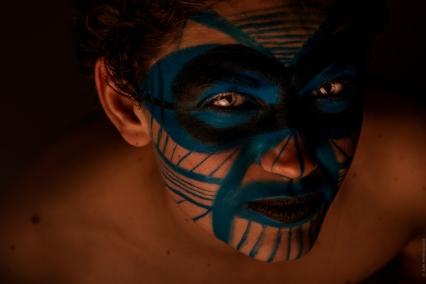 Makeup FX Aborigène souriant