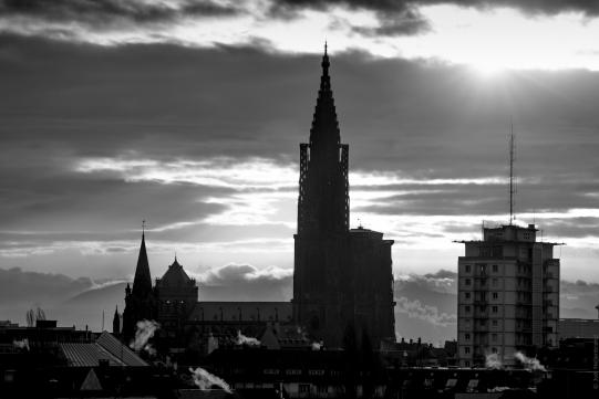 Tour et cathédrale