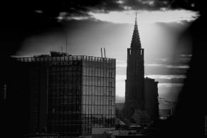 Cathédrale sous le soleil