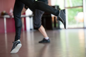 Mouvement de pied