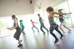 Solange dansant au CMC