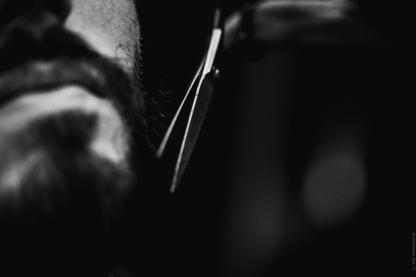 taille aux ciseaux