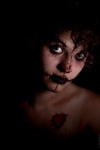 Maquillage FX d'inspiration vodou