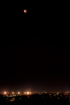 La lune, Mars et Strasbourg