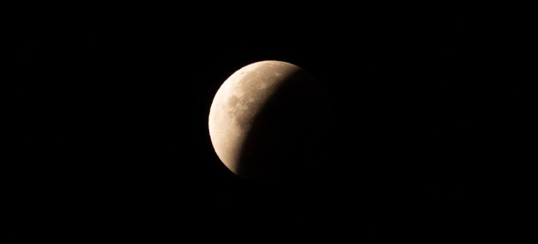 Eclipse de lune partielle
