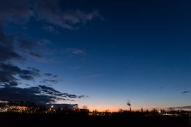 Hautepierre avant le crépuscule